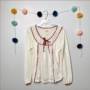 Anthropologie C. Keer Blouse